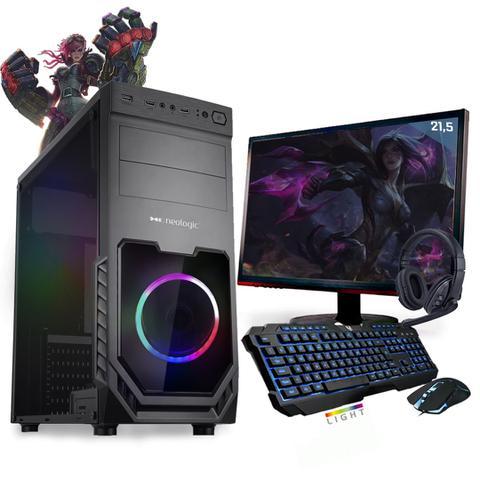 Desktop Neologic Gamer Nli81416 Amd Ryzen 3 3200g 3.60ghz 8gb 1tb Amd Radeon Vega 8 Windows 10 Pro Sem Monitor