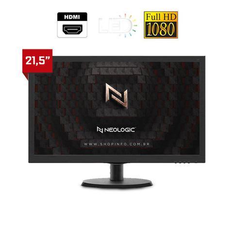 Imagem de Kit - PC Gamer Neologic X NLI81871 Intel G-5900 8GB (GTX 1650 4GB) 1TB + MONITOR 21,5
