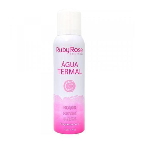 Imagem de Kit Pele Limpa e Saudável Ruby Rose c/ Demaquilante Água Micelar Água termal e Fixador de Maquiagem