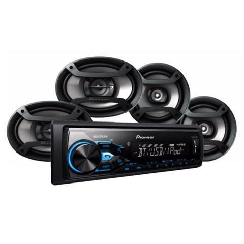 Imagem de Kit Pioneer MX-TX3869BT Bluetooth/USB + Kit Alto Falantes