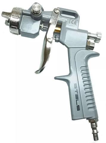 Imagem de Kit Pistola Pintura Com 5 Acessórios P/ Compressor Stels
