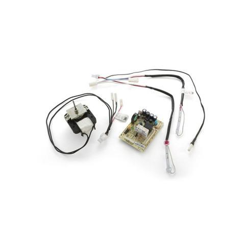 Imagem de Kit Placa Geladeira Electrolux Com Sensor Df47 Df50 127V 70001455