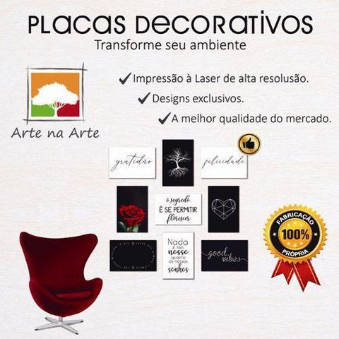 Imagem de Kit Placas Quadros Decorativos 4 pçs 20x30 Play Time