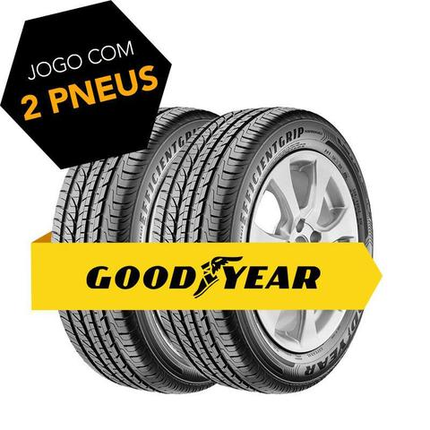 Imagem de Kit pneu aro 15 - 195/55r15 efficientgrip performance 85h goodyear 2 pecas