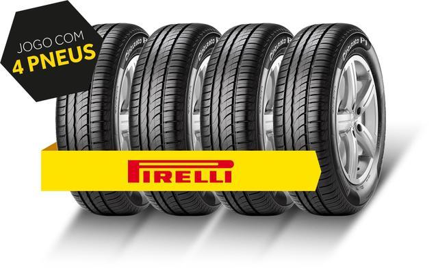 Imagem de Kit pneu aro 15 - 195/60r15 p1 pirelli 4 peças