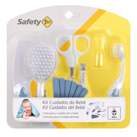 Imagem de Kit Primeiros Cuidados de Seu Bebê Azul - Safety 1st