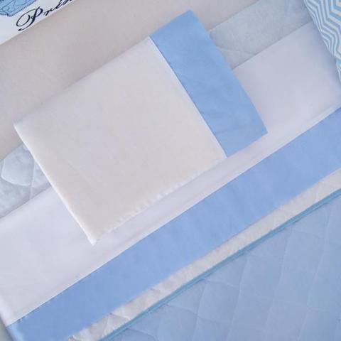 Imagem de Kit Protetor Berço completo Lateral 12 Peças Para seu bebe