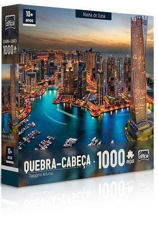 Imagem de Kit Quebra-Cabeça Toyster 1000 Peças - Paisagens Noturnas
