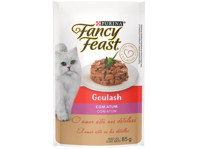 Imagem de Kit Ração Úmida para Gato Adulto Sachê Fancy Feast