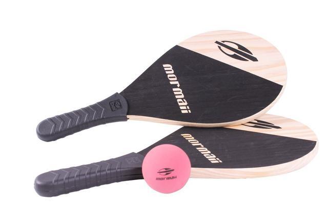 Imagem de Kit Raquetes De Praia - Frescobol Mormaii 2 Raquetes 1 Bola