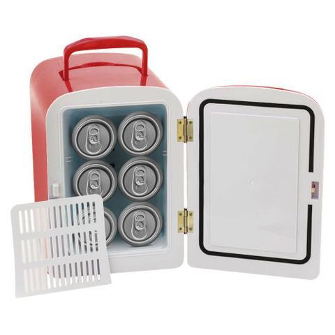 Imagem de KIT Refrigerador Portátil + Mini Aspirador de Pó Laranja