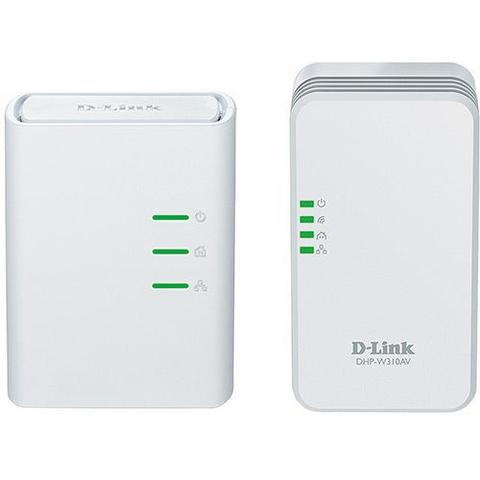 Imagem de Kit Repetidor D-Link DHP W311AV AV500 Wireless 300Mbps