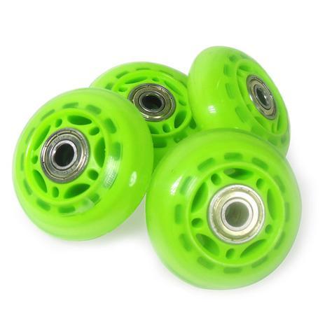 Imagem de Kit Roda de Patins Verde Rodinha Pequena 8 Unidades (RA-A)
