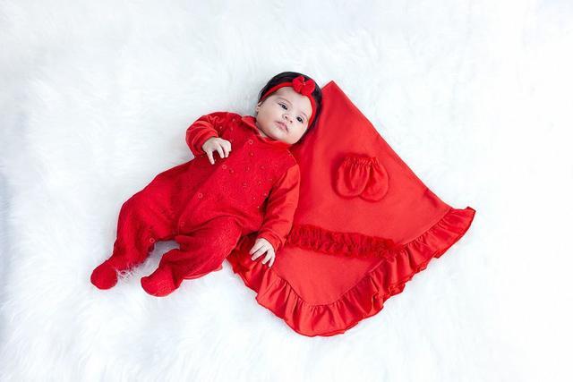 Imagem de Kit Saída De Maternidade Pérola Vermelha