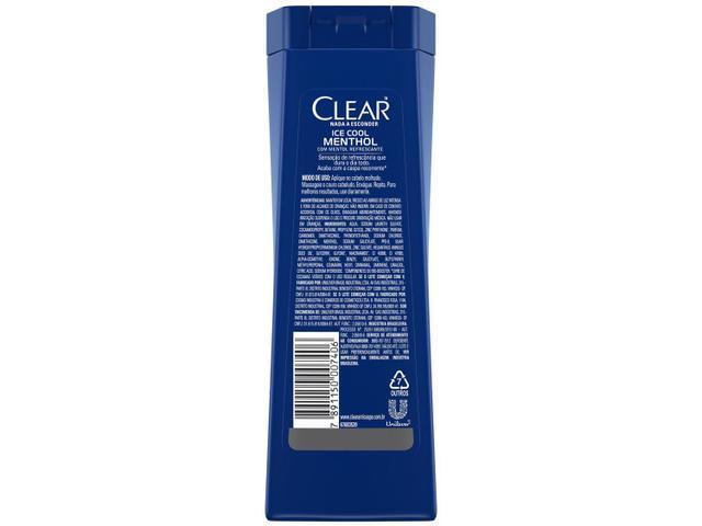 Imagem de Kit Shampoo Clear Anticaspa Ice Cool Menthol