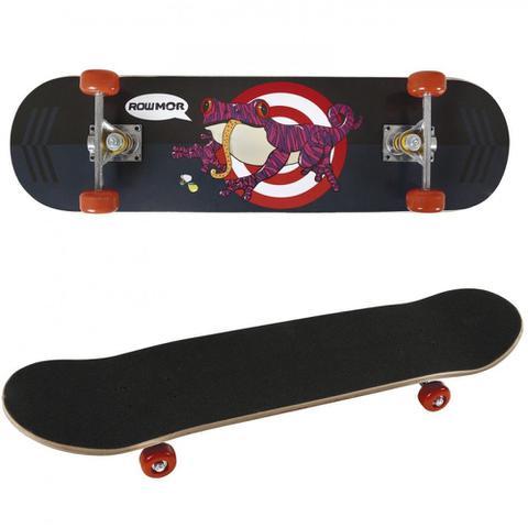 Imagem de Kit Skate com Joelheira + Capacete + Cotoveleira Cor Preto  Mor
