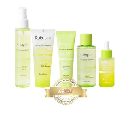 Imagem de Kit Skin Care Limpeza De Pele Cuidados Facial Anti Poluição