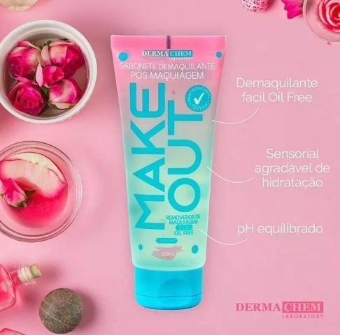 Imagem de Kit - Skin Care - Sabonetes Faciais Dermachem + Esponja Polvo