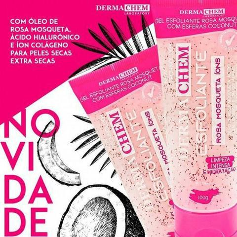 Imagem de Kit Skincare Limpeza De Pele Rosa Mosqueta Esponja Completo