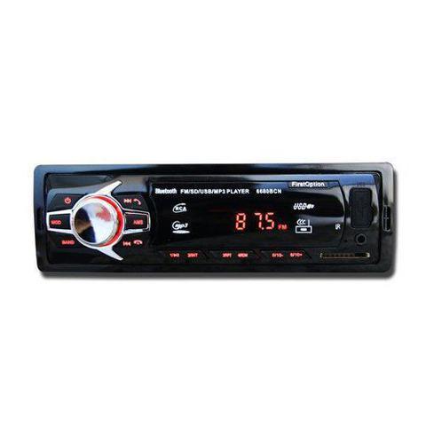 Imagem de Kit Som Automotivo Radio Bluetooth Caixa Opala Trio