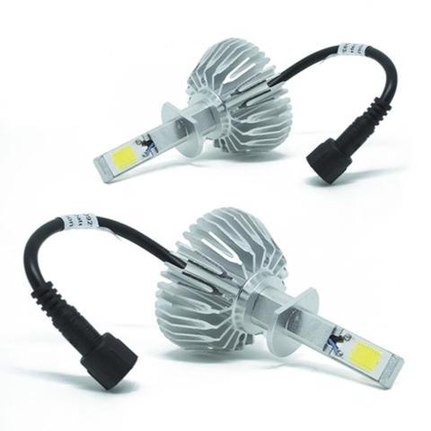 Imagem de Kit Super LED Lâmpadas H1 com Luz Branca 6000K com Efeito Xenon - ImportWay