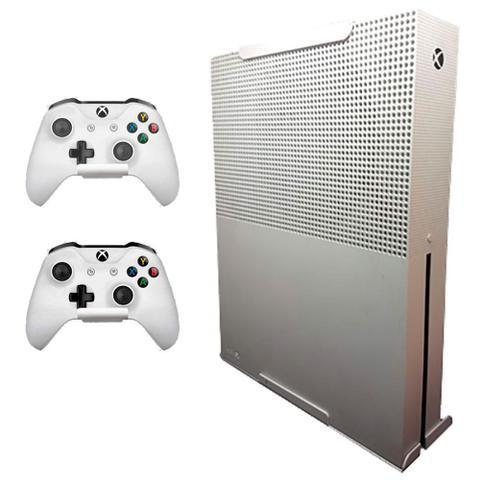 Imagem de Kit Suporte Para Xbox One S e  2 Suportes de Headset BRANCO