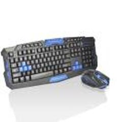 Imagem de Kit Teclado E Mouse Gamer Sem Fio Wireless 2.4ghz 3200dpi