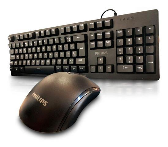 Kit Teclado e Mouse Spt6214 Philips