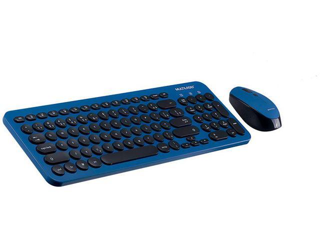 Imagem de Kit Teclado e Mouse sem Fio Multilaser