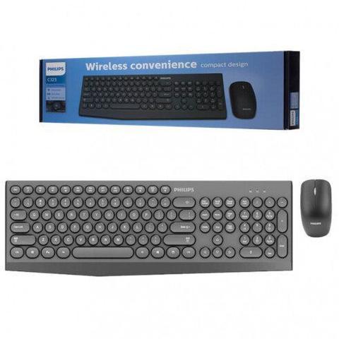 Kit Teclado e Mouse C323 Philips