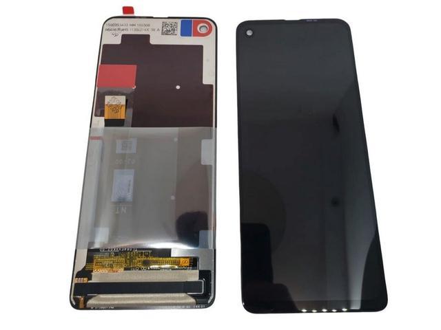 Imagem de Kit Tela Display Frontal Touch Motorola Moto One Vision Xt1970-1 Preto + Cola Adesiva Multiuso Zhan Lida B7000 110ml