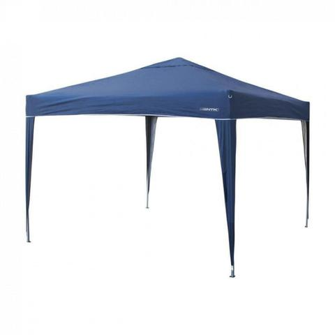 Imagem de Kit Tenda Dobravel Trixx 3m X 3m Base e Topo + 4 Paredes Laterais Azul  Nautika