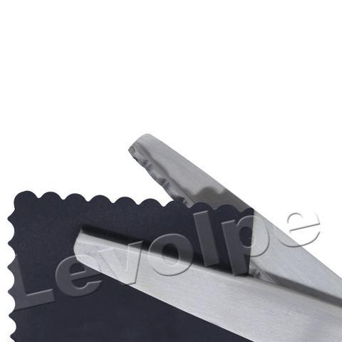 Imagem de Kit Tesoura de Picotar Zig Zag + Tesoura De Escalope Tecidos
