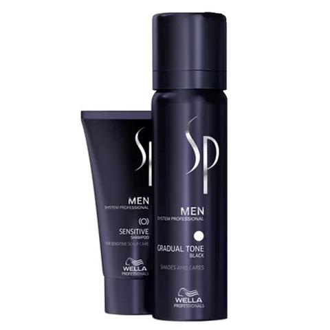 Imagem de Kit Tonalizante Masculino Wella SP Men Gradual Tone Black