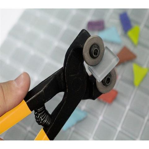 Imagem de Kit Torquês 8 Pol. Mosaico Com Roldanas + Torquês Azulejista Corte E Furo 7.1/2 Pol. Cortag.