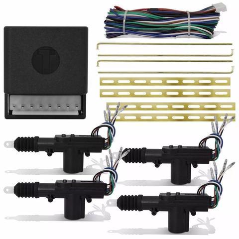 Imagem de Kit Travas Elétrica Universal 4 Portas