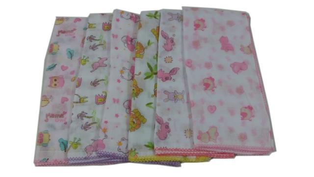 Imagem de Kit Tudo Para Recém Nascido Fraldas cueiros toalhas Menina