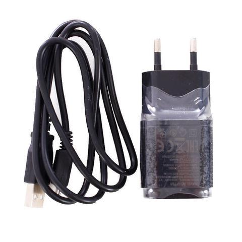 Imagem de Kit Turbo Carregador + Cabo USB V8 Completo 1.8A