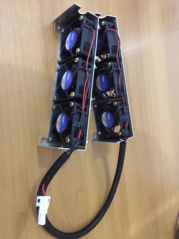 Imagem de kit ventilador de controlador para empilhadeiras 2322053