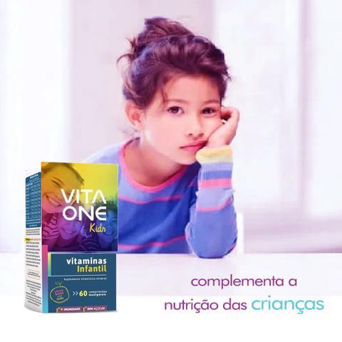 Imagem de Kit Vitaone kids 60 cápsulas criança sabor 2 caixas em oferta