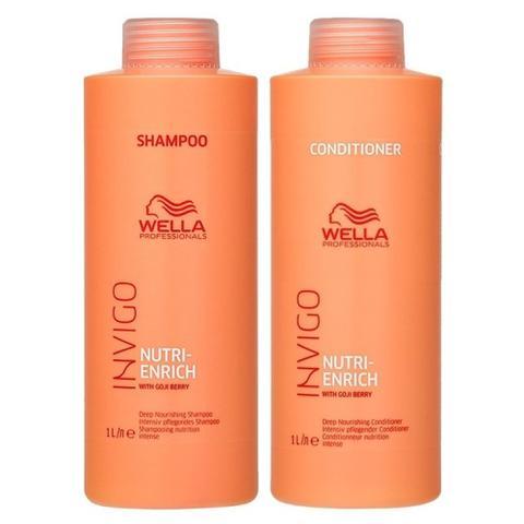 Imagem de Kit Wella Nutri Enrich Shampoo E Condicionador 1 Litro
