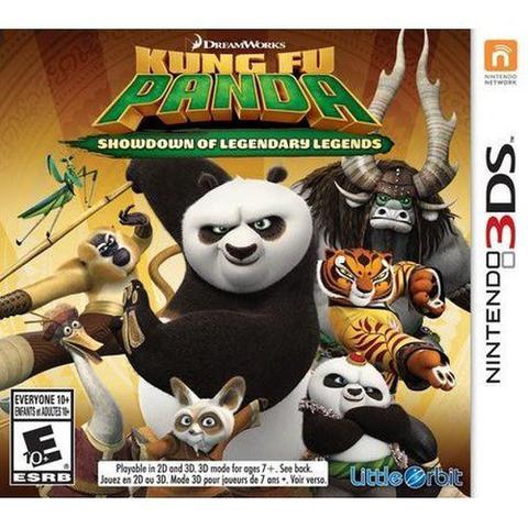 Jogo Kung Fu Panda: Showdown Of Legendary Legends - 3ds - Little Orbit