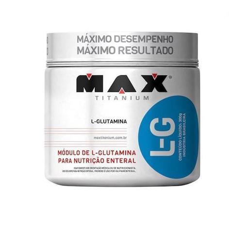 Imagem de L-G Glutamina 300g Max Titanium