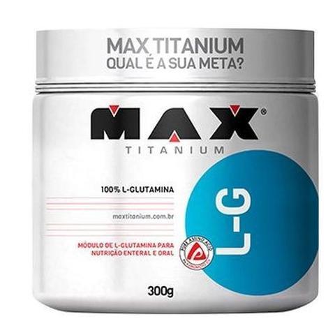 Imagem de L-glutamina - 300g - Max Titanium
