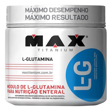 Imagem de L Glutamina 300g Max Titanium