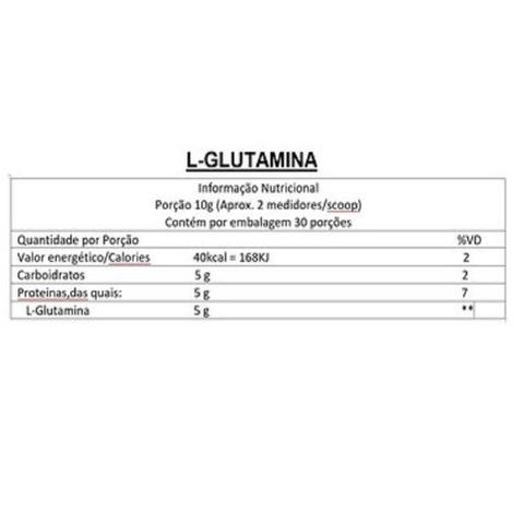 Imagem de L-Glutamina Natural (com Maltodextrina) 300g - Muscle Full