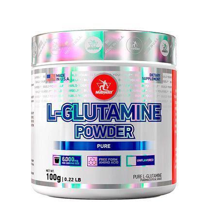 Imagem de L-glutamina Powder Midway - 100 G