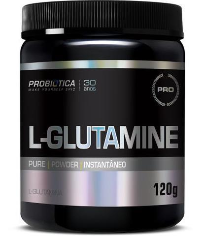 Imagem de L-GLUTAMINE 120 g SEM SABOR PROBIÓTICA