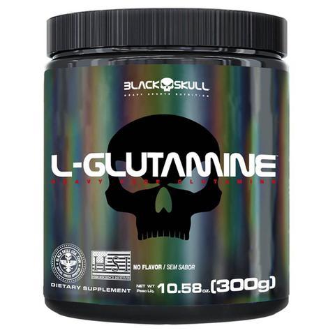 Imagem de L-Glutamine - 300g Sem Sabor - BlackSkull