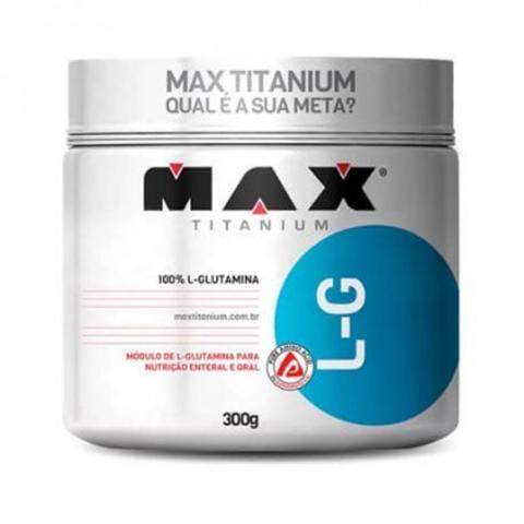Imagem de L-Glutamine LG 300g  - Max Titanium